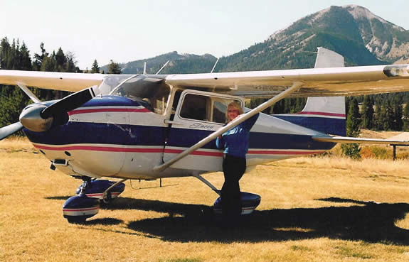 Stacey Budell is an Idaho real estate broker and licensed commercial pilot
